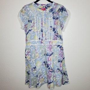 Free People Watercolor Patterned Dress